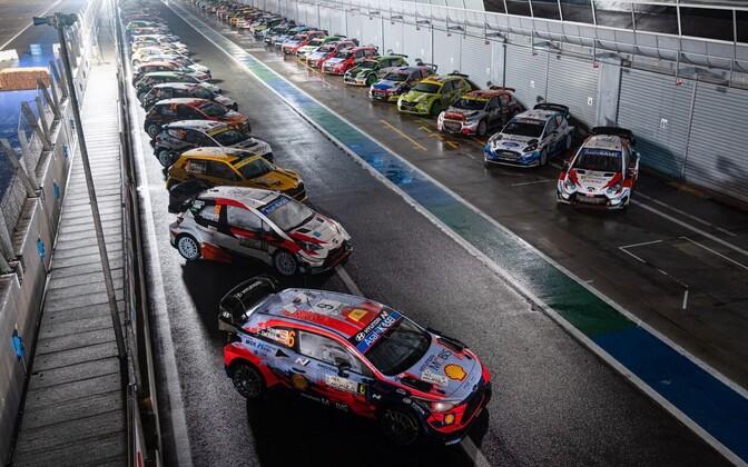 Masinad Monza MM-rallil