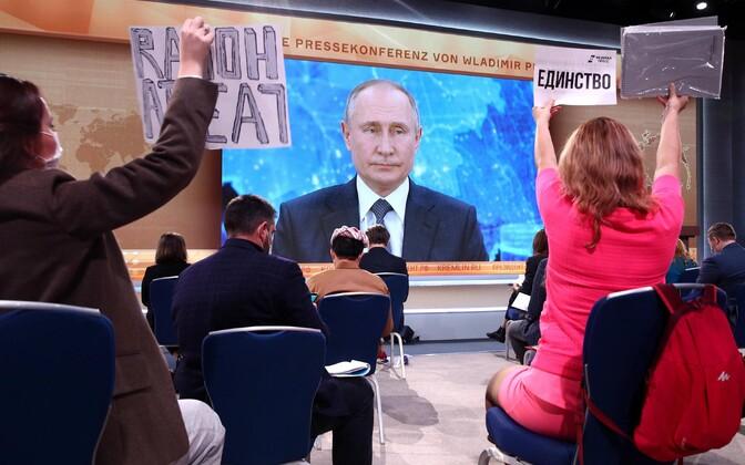 Vladimir Putini pressikonverents.