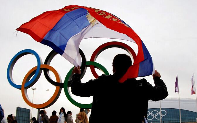 Venemaa lipu all ei saa venelased järgneval kahel aastal võistelda.
