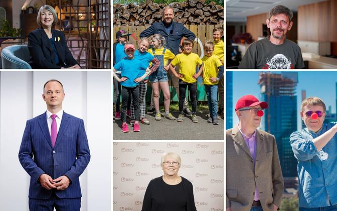 Eesti Rahvusringhääling jagas aastapreemiaid