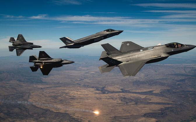 Hävitajad F-35A Lightning II