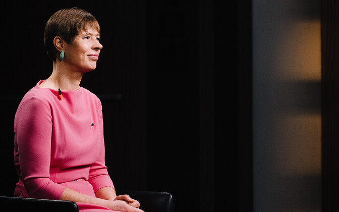 End of the year interview with President Kersti Kaljulaid.
