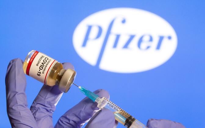 Pfizer-BioNTechi vaktsiin.
