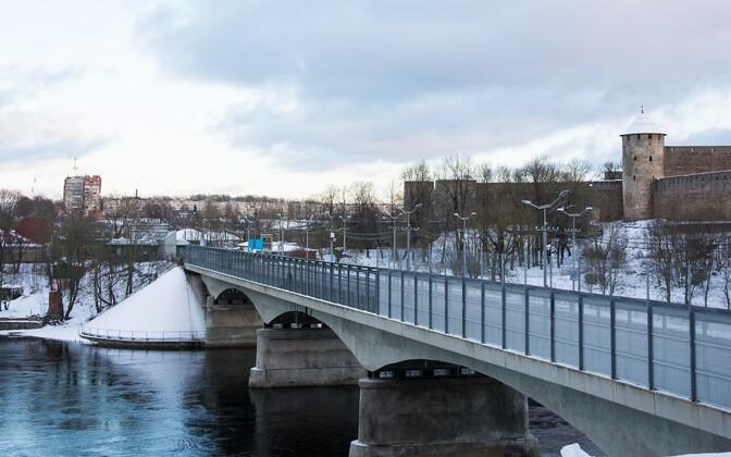 Sild Eesti-Venemaa piiril.