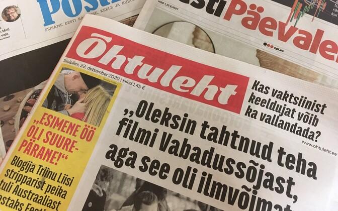Ajalehed.