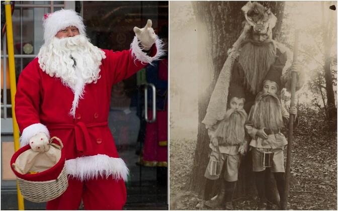 Kinke toov jõulumees sai saksa eeskujul Eestis laiemalt tuttavaks allas 19. sajandi lõpus.