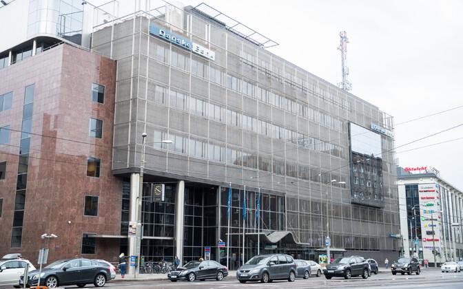 The former branch of Danske Bank, on Narva mnt in central Tallinn, closed in 2019.