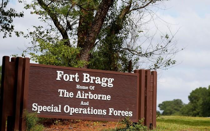 Fort Braggi silt Põhja-Carolinas.