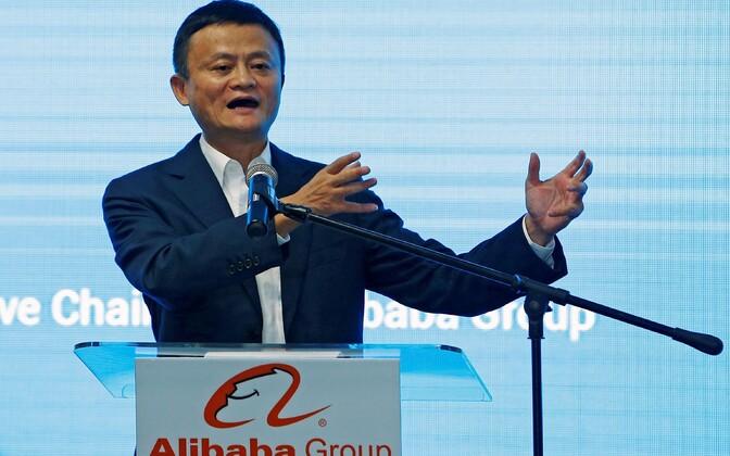 Alibaba grupi asutaja Jack Ma.