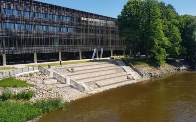 На победу в числе прочих претендует учебное здание Delta Тартуского университета.