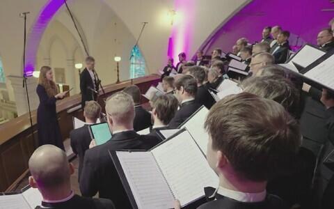 Rahvusmeeskoori jõulukontsert Jaani kirikus