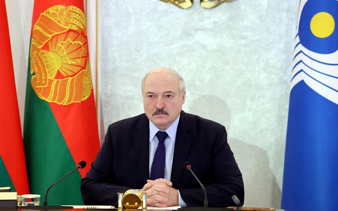 Valgevene president Aleksandr Lukašenko.