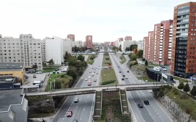 Ласнамяэ - крупнейший район Таллинна.