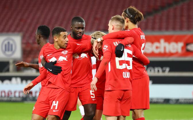 Võidukas RB Leipzig kerkis Saksamaa kõrgliigas tabeliliidriks