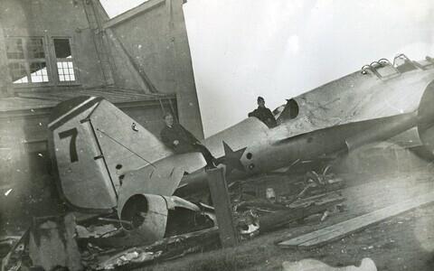1941. aastal sakslaste tehtud foto Tartus.