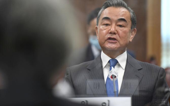 Hiina välisminister Wang Yi