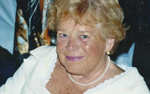 Pianist ja pedagoog Eevi Ross.