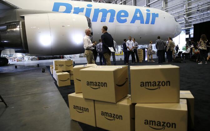 Tänase seisuga veab Amazon ise kliendini umbes pooled kaubapakid.