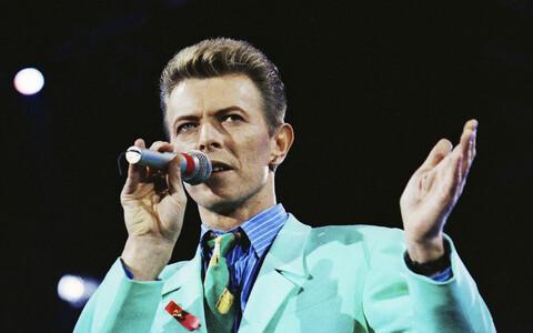 David Bowie 1992. aastal Freddie Mercury mälestuskontserdil.