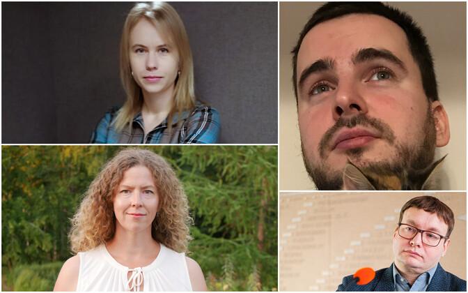 Sirbi 2020. aasta laureaadid on Helm, Lill, Kindsiko ja Saarts
