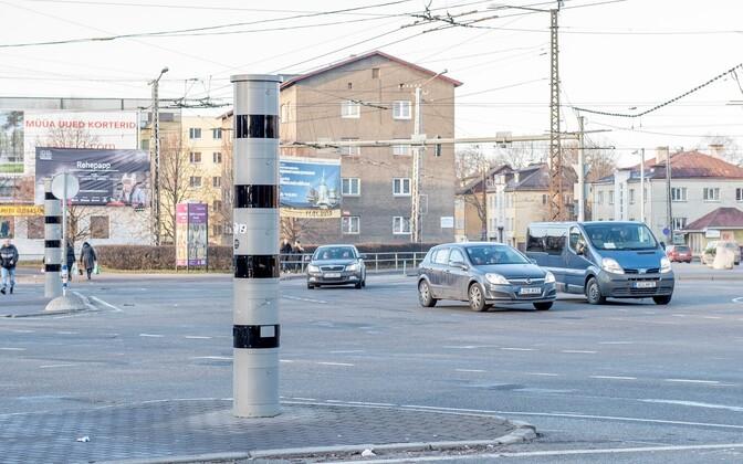 Tallinnas lõpetavad aasta lõpus töö ka Kristiine ristmiku kiiruskaamerad