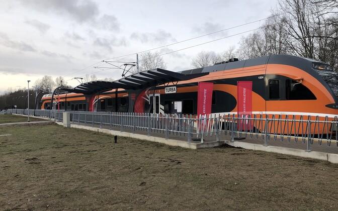 С декабря 2019 года поезда снова могут следовать до Турба.