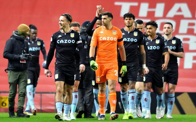 Aston Villa mängijad