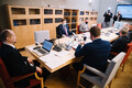 Saturday's constitutional affairs committee meeting, at which Anti Poolamets (EKRE) and Lauri Läänemets (SDE) were returned as committee chair and deputy chair respectively.