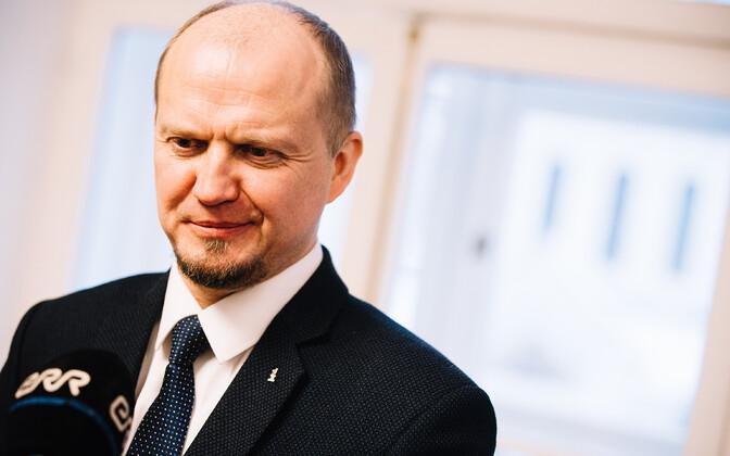 Anti Poolamets (EKRE), chairman of the Riigikogu's constitutional committee.