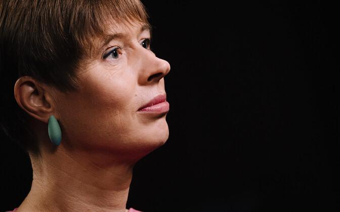 President Kaljulaid.