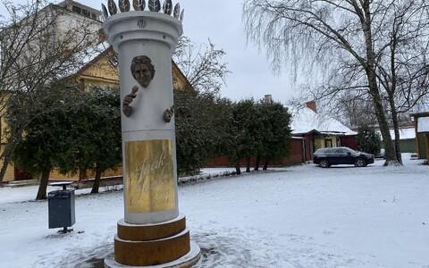 Jaak Joala ausammas Viljandis.