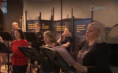 Filharmoonia kammerkoor salvestab plaadifirmale BIS Records Rahmaninovi muusikat.