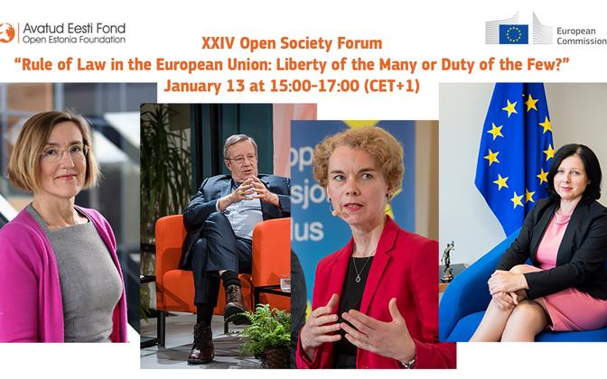 Open Society Forum speakers.