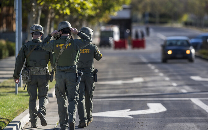 USA California osariigi Mercedi maakonna politseinikud