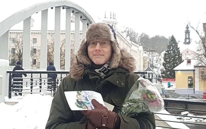 Tartu uus linnakirjanik on Juhan Voolaid
