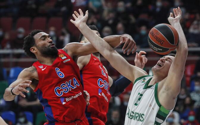 Moskva CSKA - Kaunase Žalgiris