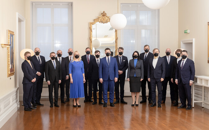 Jüri Ratas' government, which resigned on January 14.