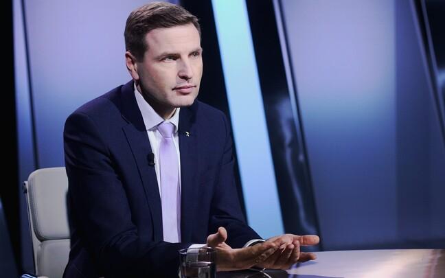 Член правления Партии реформ Ханно Певкур в передаче