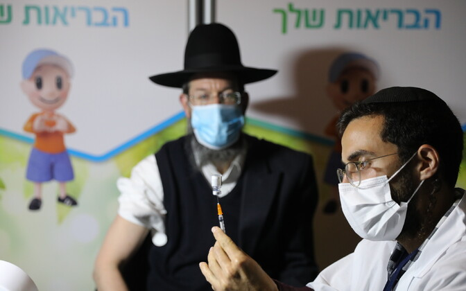 Vaktsineerimine koroona vastu Iisraelis.