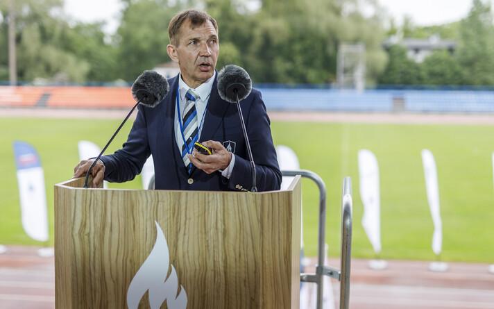 Председатель Эстонского олимпийского комитета Урмас Сыырумаа.