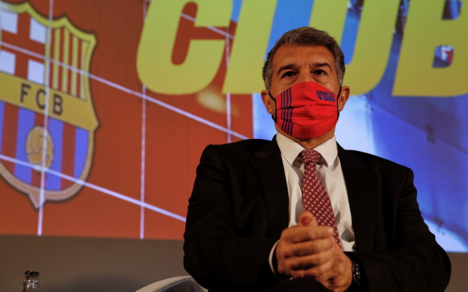 FC Barcelona presidendikandidaat Joan Laporta