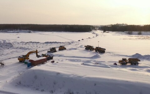 Mining machinery.