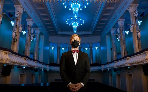 Пианист Йохан Рандвере, сольный концерт которого запланирован на февраль в концертном зале «Эстония».