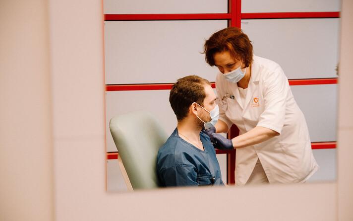 Koroonaviiruse vastu vaktsineerimine.
