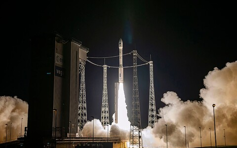 Euroopa Kosmoseagentuuri raketi Vega start möödunud aasta detsembris. Kokku toimetati toona orbiidile 53 kuupsatelliiti.