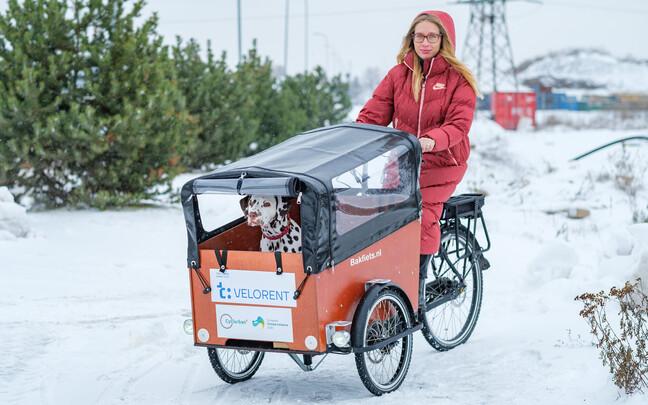 Аренда велосипедов с прицепом в Тарту.