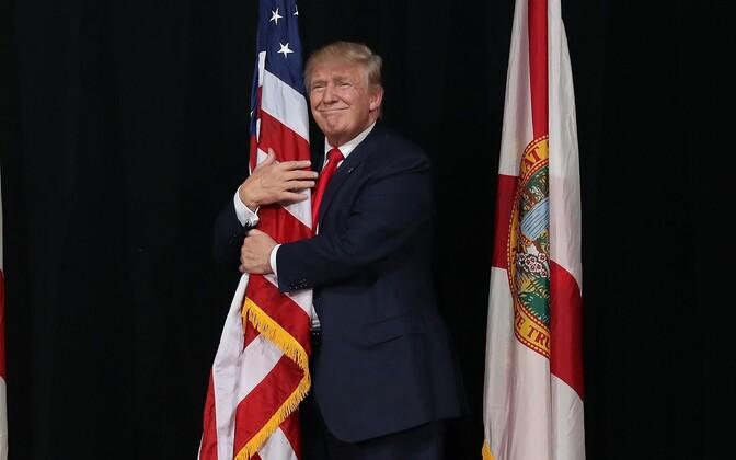 Президентский срок Дональда Трампа в объективе фотокамер.