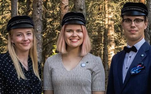 Katariina Järve, Kristin Pintson ja Lennart Mathias Männik
