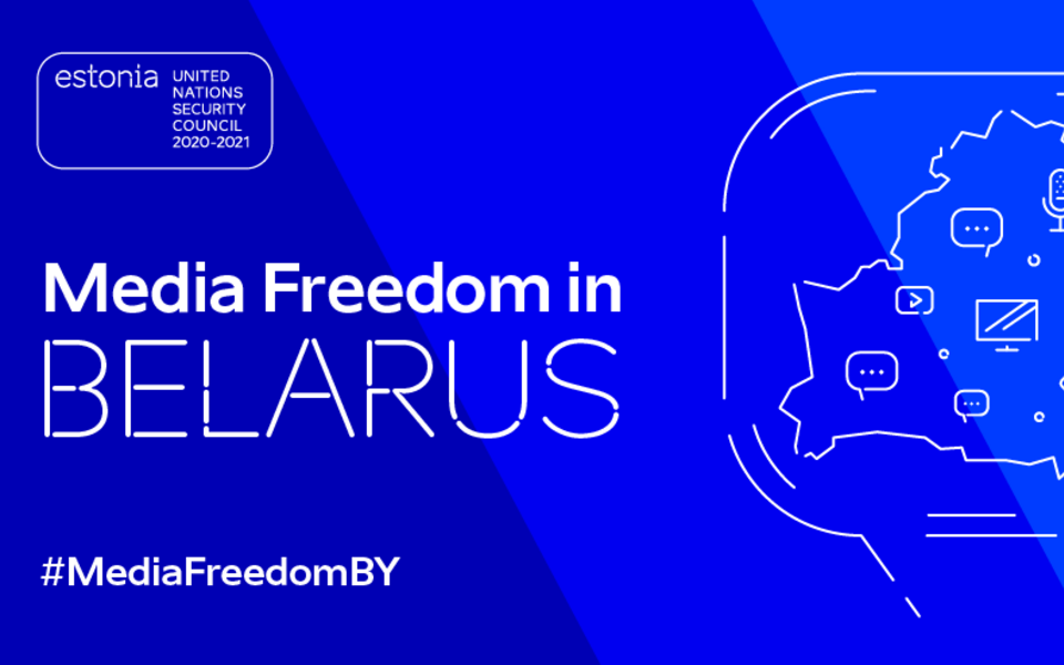 The UNSC meeting on media freedom in Belarus will take place on January 22.