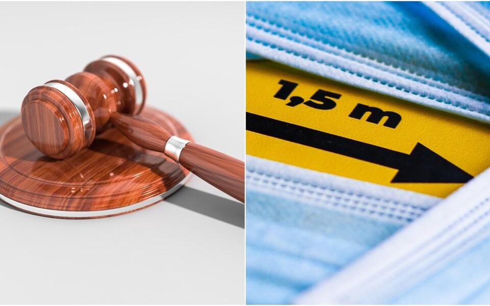 В Таллиннский административный суд стекаются иски против коронавирусных ограничений правительства.